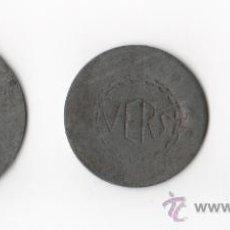 Monedas locales: LOTE 3 FICHAS DE LA COMPAÑIA S.A. VERS...MUY CURIOSAS (REF 817). Lote 33275129