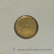 Monedas locales: FICHA DE 65 PESETAS, SELECCIONES.. Lote 33555940