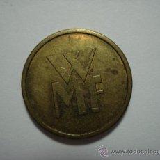 Monedas locales: RARO TOKEN FICHA JETTON AÑOS 1950 ESTADOS UNIDOS. Lote 34004487