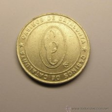 Monedas locales: MONEDA FICHA CASINOS DE CATALUNYA. 50 CENT.. Lote 34505929