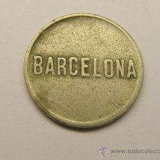 Monedas locales: MONEDA FICHA BARCELONA F.W.. Lote 34506284