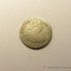 Monedas locales: MONEDA 1/2 REAL CARLOS IV, MADRID. AÑO 1799.. Lote 34516744