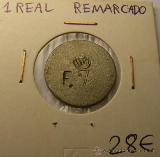 MONEDA 1 REAL ¿FERNANDO VII?, MADRID. (Numismática - España Modernas y Contemporáneas - Locales y Fichas Dinerarias y Comerciales)
