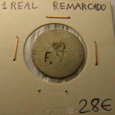 Monedas locales: MONEDA 1 REAL ¿FERNANDO VII?, MADRID. . Lote 34516821