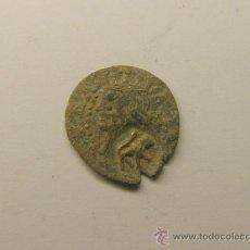 Monedas locales: MONEDA 1 DINERO, VIC, CATALUNYA. FELIPE I. RESELLO DEL LEON.. Lote 34516906
