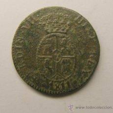 Monedas locales: MONEDA 1 CUARTO Y MEDIO, FERNANDO VII. AÑO 1811. CATALUNYA. . Lote 34517086
