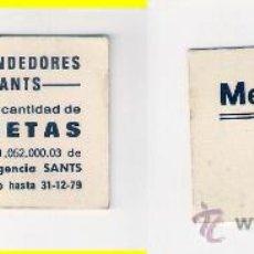Monedas locales: C258-ASOCIACION DE VENDEDORES. MERCADO DE SANTS. 5 PESETAS.1979.. Lote 34633844