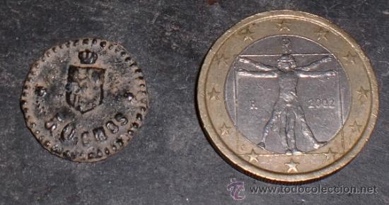 FICHA DE 50 CTMOS MADRID. (Numismática - España Modernas y Contemporáneas - Locales y Fichas Dinerarias y Comerciales)