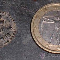 Monedas locales: FICHA DE 50 CTMOS MADRID.. Lote 34710256