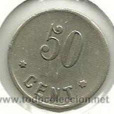 Monedas locales: (FCP-257)FICHA 50 CTS.SOCIEDAD COOPERATIVA LA HORMIGA DE SANS(BARCELONA). Lote 34720791