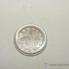 Monedas locales: FICHA O MONEDA DE EUSKADI, 1 PTA. 1937. GUERRA CIVIL. EUZKADI.. Lote 34860791