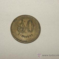 Monedas locales: FICHA O MONEDA DE COOPERATIVA BARCELONESA, 10 CTS. Lote 34861016