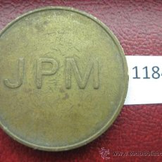 Monedas locales: FICHA JPM 10 PENIQUES CENTIMOS , TOKEN, JETON. Lote 34864295