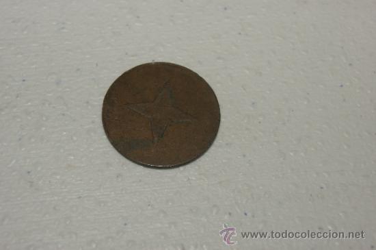Monedas locales: Ficha o moneda de Compañia de tranvias de Barcelona - Foto 2 - 34861491