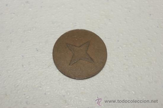 Monedas locales: Ficha o moneda de Compañia de tranvias de Barcelona - Foto 2 - 35180895