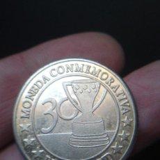 Monedas locales: MONEDA CONMEMORATIVA ,REAL MADRID ,,CAMACHO . Lote 35311130