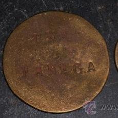 Monedas locales: 1 Y MEDIA FANEGA DE LA FINCA DE FRANCISCO DE LA RUBIA ,LA CAROLINA (JAEN). Lote 36176869