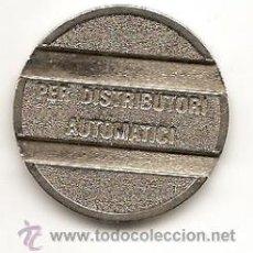 Monedas locales: ITALIA. FICHA. PER DISTRIBUTORI AUTOMATICI. Lote 36388138