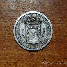 Monedas locales: MEDALLA INAGURACION PLAZA DE TOROS DE HUELVA COLOMBINAS 1968. Lote 36629822