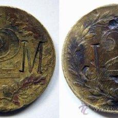 Monedas locales: RARA FICHA O TOKEN. Lote 36761517