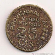 Monedas locales: 25 CTS. LORA DEL RÍO (SEVILLA). Lote 36994640