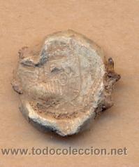Monedas locales: MON 601 SELLO EN PLOMO CON ESCUDO ESPAÑOL 17 X 18 MM CERTIFICADO 4 EUROS PARA ESPAÑA todos mis l - Foto 2 - 37261799