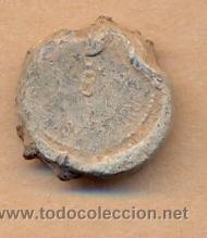 Monedas locales: MON 601 SELLO EN PLOMO CON ESCUDO ESPAÑOL 17 X 18 MM CERTIFICADO 4 EUROS PARA ESPAÑA todos mis l - Foto 3 - 37261799