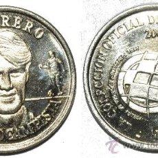 Monedas locales: FICHA JETON TOKEN GUERRERO. DE LA COLECCIÓN OFICIAL DE MEDALLAS SELECCIÓN 2000. Lote 38010538