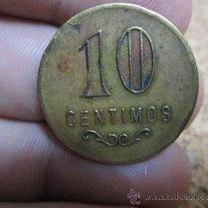 Monedas locales: FICHA DE 10 CENTIMOS A IDENTIFICAR. Lote 38016917