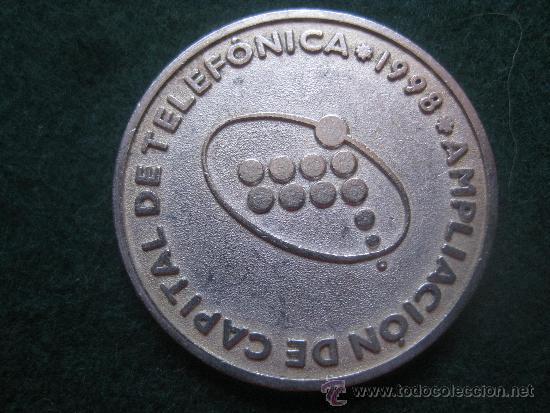 TELEFONICA 1998 AMPLIACION DE CAPITAL (Numismática - España Modernas y Contemporáneas - Locales y Fichas Dinerarias y Comerciales)