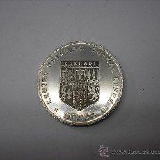 Monedas locales: MEDALLA DE 1 ONZA DE PLATA PURA DE EUSKAL ETXEA DE MÉXICO. Lote 38937365