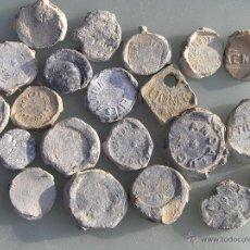 Monedas locales: LOTAZO PRECINTOS PLOMO S XIX - PP S XX.. Lote 39595013