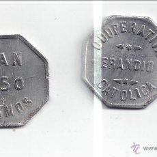 Monedas locales: FICHA: ERANDIO 250 GR PAN - BILBAO - VIZCAYA (5). Lote 27395422