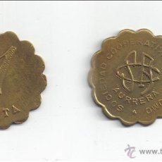 Monedas locales: FICHA: AURRERA - SESTAO (VIZCAYA) 1 PESETA. Lote 27518078