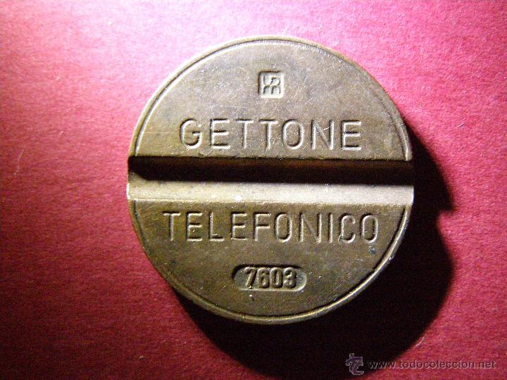 Monedas locales: FICHA DE TELÉFONOS - ITALIANA - GETTONE TELEFONICO 7603 -Token - Jeton - - Foto 2 - 40475270