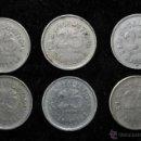 Monedas locales: LOTE DE 6 MONEDAS FICHA BAR AUTOMATIC. BARCELONA. 25CTS. 25 CENTIMOS. Lote 40700537