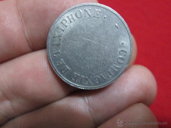 Monedas locales: ficha de telefonos francesa TAXIPHONE BC - Foto 2 - 40910527