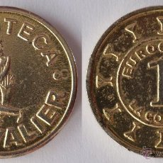 Monedas locales: FICHA TOKEN JETÓN CONSUMICIÓN DISCOTECA CHEVALIER LA CORUÑA. DIÁMETRO 28 MM. Lote 40939549