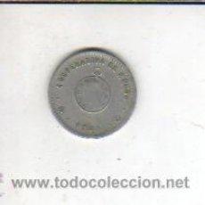 Monedas locales: FICHA DE LA COOPERATIVA EL RELOJ - 1 PTAS 1901- BARCELONA - BARRIO LAS CORTS - SARRIA. Lote 41072371