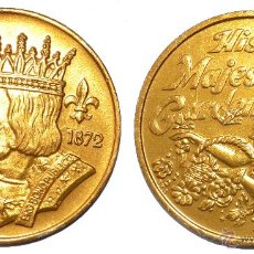 Monedas locales: FICHA TOKEN JETON *KING OF CARNIVAL -NEW ORLEANS* 38 MM AÑO 1979. *HIS MAJESTY GARDEN*. Lote 42542700