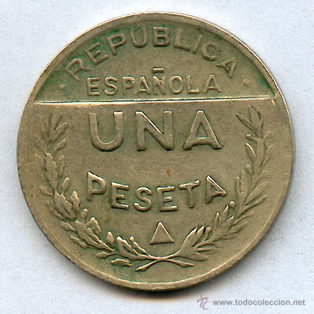 Monedas locales: CONSEJO DE SANTANDER Y PALENCIA. 1 PESETA AÑO 1937 - Foto 2 - 42586461