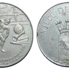 Monedas locales: ESTUPENDA FICHA TOKEN JETON **VILLE DE LORIOL**-FRANCIA. DIÁMETRO 30 MM. Lote 42818288