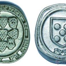 Monedas locales: MUY BONITA FICHA TOKEN JETÓN **FIESTA MEDIEVAL PORTUGUESA**. CAPITAL DO REINO DOS ALGARVES. SILVES**. Lote 42855988