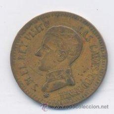 Monedas locales: CAVAS DE CODORNIU-VISITA DEL REY ALFONSO XIII-17-04-1904. Lote 42890002
