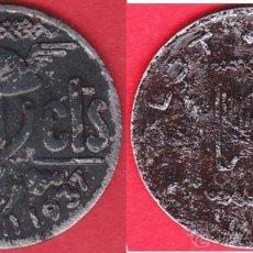 Monedas locales: 10 CÉNTIMOS1937 AYUNTAMIENTO DE OLOT (GERONA) MBC+/MBC FE LACADA. Lote 43059802