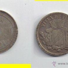Monedas locales: FICHA: IRUN - POTOSI - BEHOBIA ... GUIPUZCOA. Lote 43069738