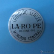 Monedas locales: FICHA MERCADO CENTRAL BORNE-99 LADISLAO LLÁCER LA-RO-PE AÑOS 1960 CHAPA NUEVA #PP-R. Lote 47851670
