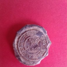 Monedas locales: ANTIGUO MARCHAMO DE ADUANAS. 1850. PLOMO.. Lote 43876137