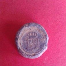 Monedas locales: ANTIGUO MARCHAMO FISCAL DE ADUANA. PLOMO.. Lote 43876178