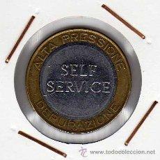 Monedas locales: TOKEN CAR WASH ALTA PRESSIONE DEPURAZIONE OCCIMIANO ( ITALIA ) MBC+. Lote 44063343